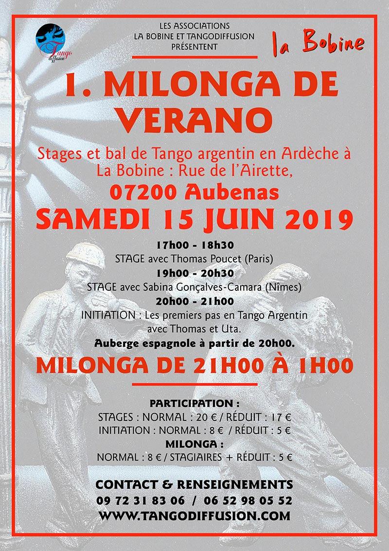 Stage tango aubenas
